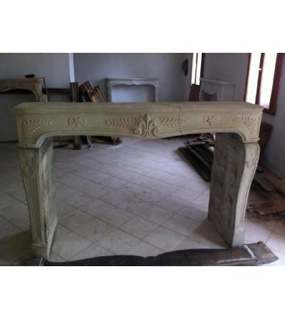 Regence style fireplace