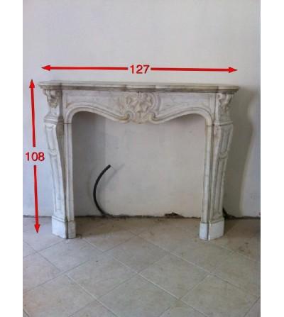 cheminée style Louis XV