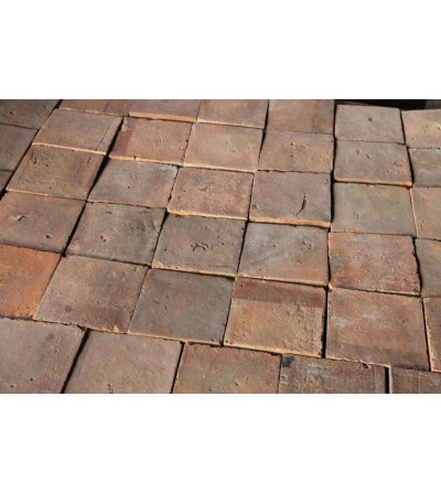 Ancient square floor-tiles