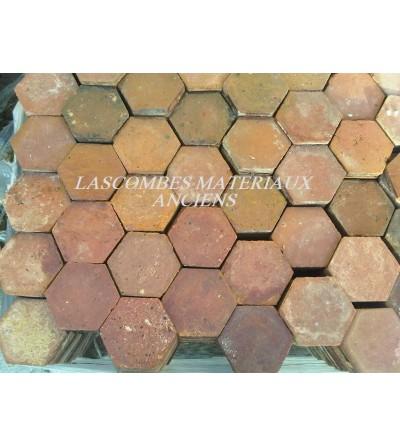 tomettes hexagonales 15 cm