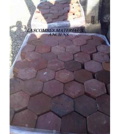 tomettes hexagonales 14 cm