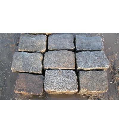 Pavés anciens en granit